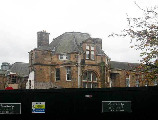 Rear Aspect, Former Victoria Infirmary Building, Langside, Glasgow