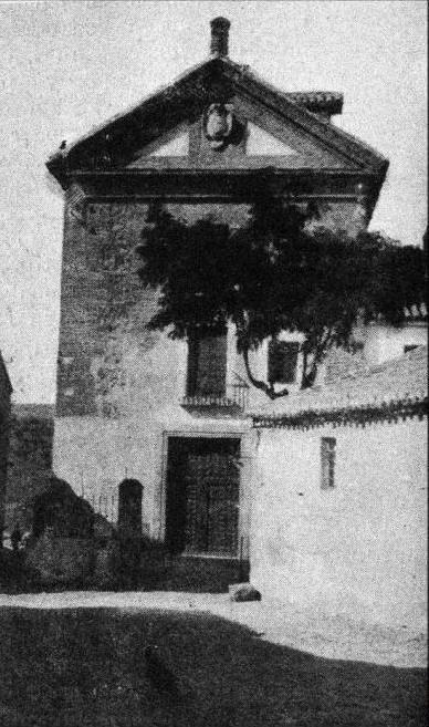 Convento de San Gil a comienzos del siglo XX. Archivo Cortes de Castilla-La Mancha