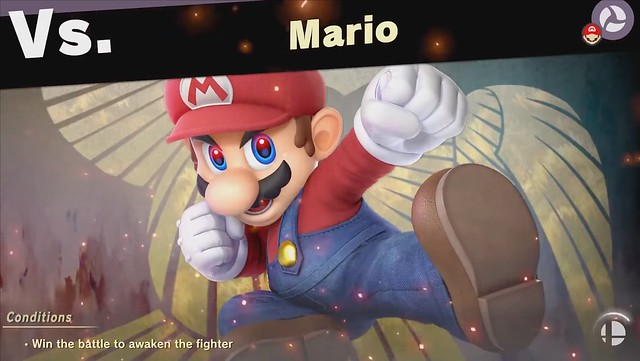 Super Smash Bros - Combattant Mario