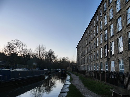 Canal side mill