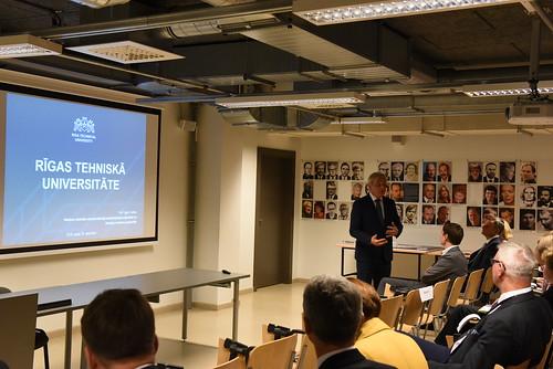 Latvijas vēstnieku vizīte RTU