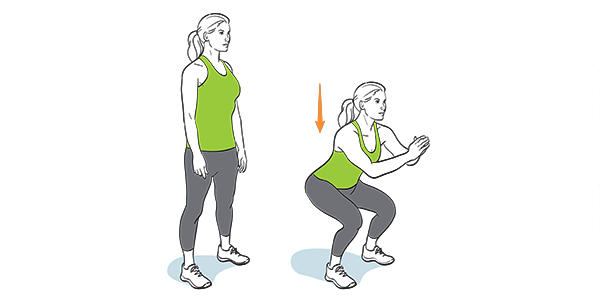 How to Master Chair Squats to Stay Active in the Office - Image 2