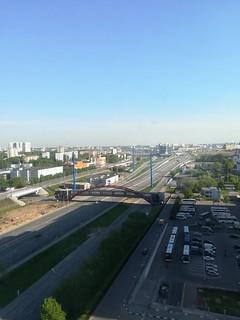 Moscou vue de l'Hotel Vega (1)