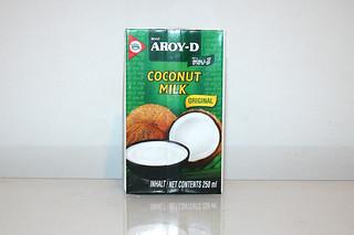 07 - Zutat Kokosnussmilch / Ingredient coconut milk
