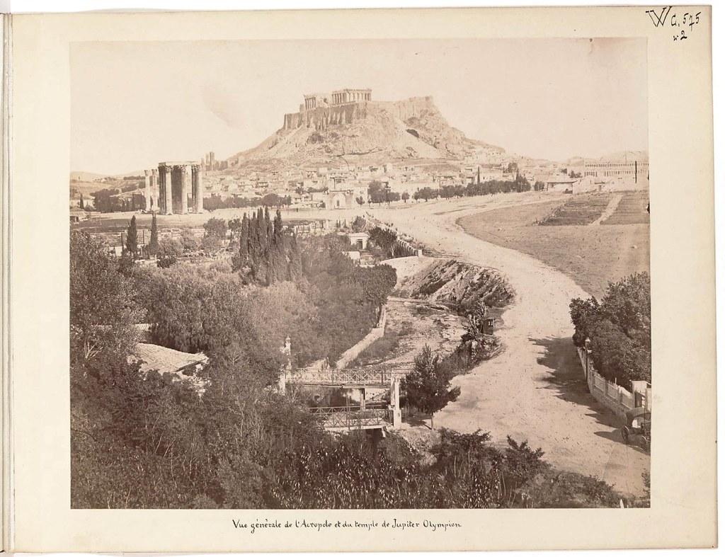 Альбом из 21 фото. из Афин и Пирея в 1880 году, подарок доктора Фювьера-09