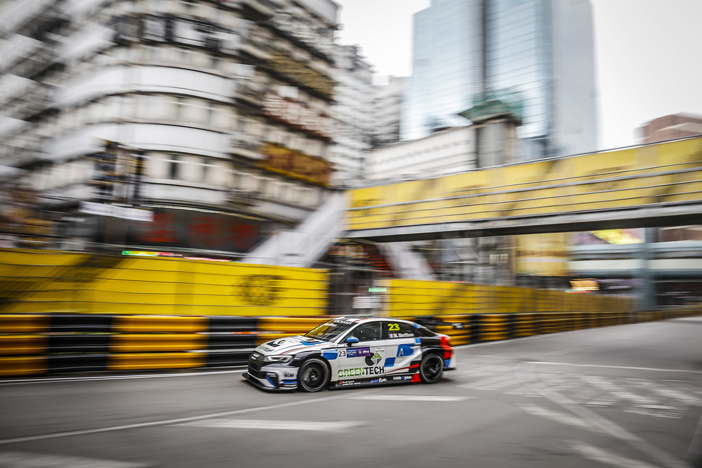 23 BERTHON Nathanael, (fra), Audi RS3 LMS TCR team Comtoyou Racing, action during the 2018 FIA WTCR World Touring Car cup of Macau, Circuito da Guia, from november  15 to 18 - Photo Francois Flamand / DPPI