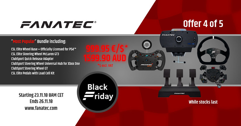 Fanatec 2018 Black Friday Deal 4