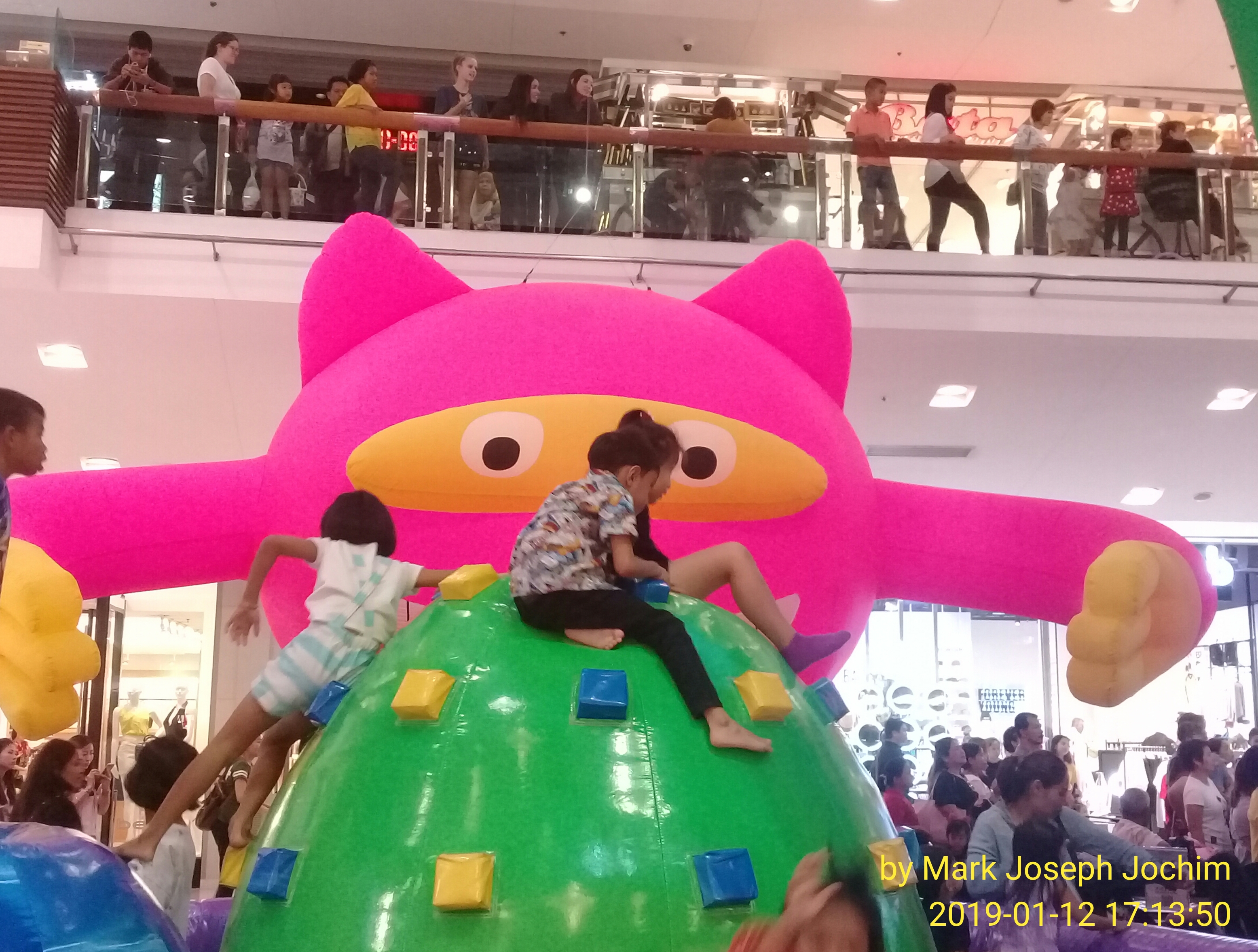 Children's Day at Central Festival (old mall) in Phuket, Thailand, January 12, 2019