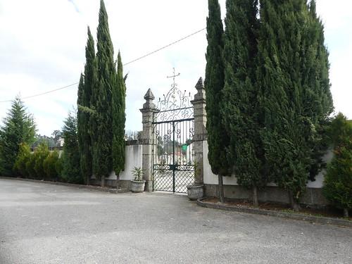 Vimieiro cemetery gate