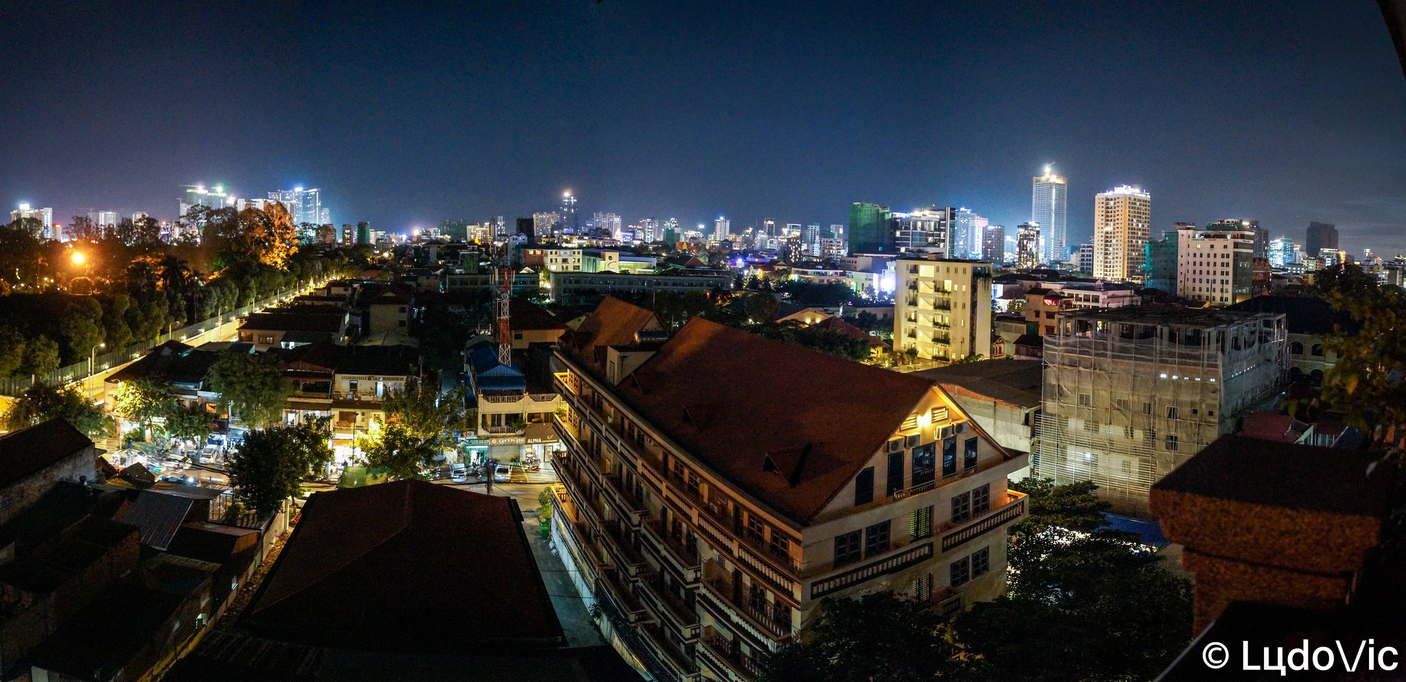 Phnom Penh panoramique