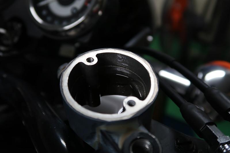 W800 車検整備