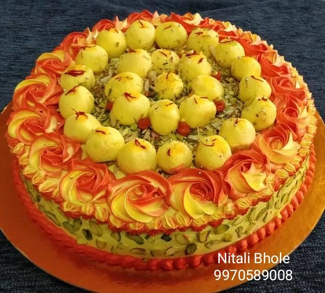 Shahi Rasmalai Cake by Nitali Amit Bhole of Aarush's Cake Delight