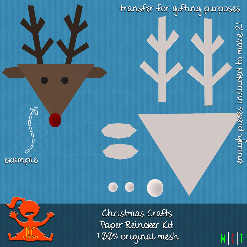 KC Christmas Crafts Reindeer
