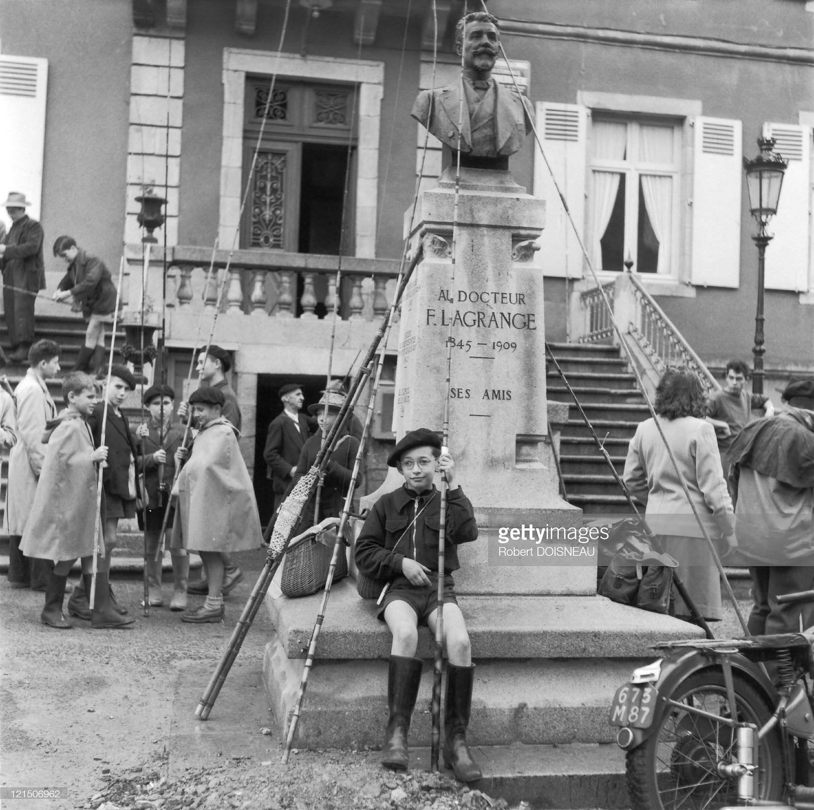 1954. Рыболовный конкурс, Пьер-Баффьер, Верхняя Вена