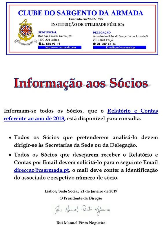 AVISO Informacao_Relatorio_Contas_2018