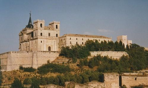 Le monastère, Uclés, province de Cuenca, Castille-La Manche, Espagne.