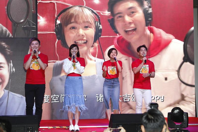 from left - Gary, Jan, LeyTeng, Desmond