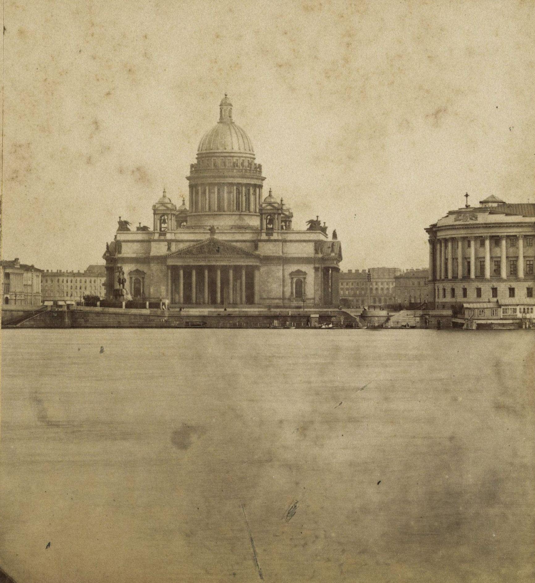 Петровская (Сенатская) площадь с Васильевского острова