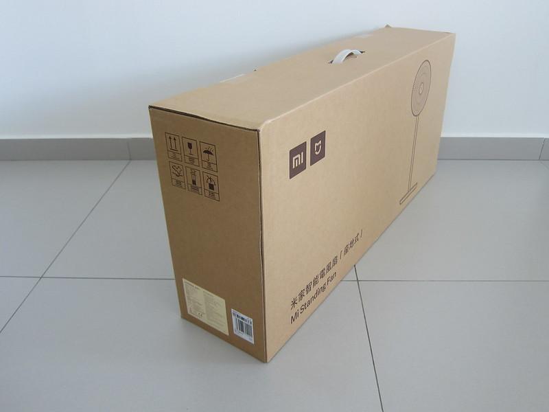 Mi Standing Fan - Box Back