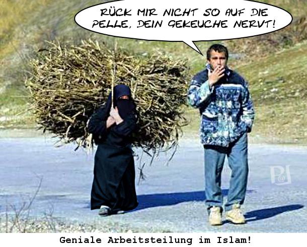 Arbeitsteilung im Islam