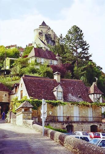 Castelnaud-la-Chapelle and Chateau de Castlenaud, 5th September 1994