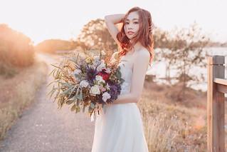 單人婚紗|Ning