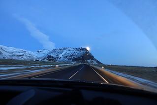 Driving on Þjóðvegur