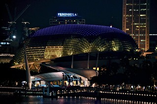 Theatres on the Bay and Bay Grandstand, Marina Reservoir