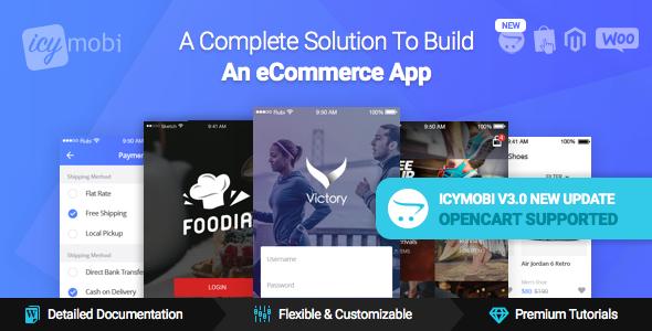 IcyMobi v3.0.2 – All-in-one E-commerce App Solution