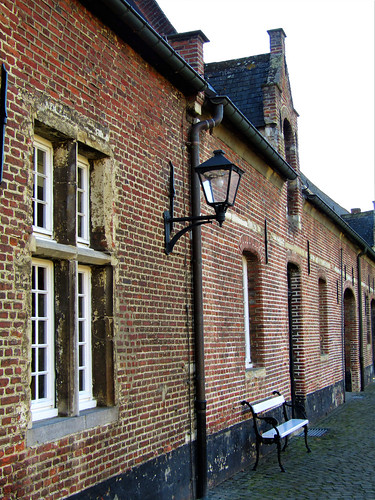 Old buildings of Tongerlo Abbey in Westerlo