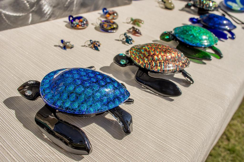 Glass turtles