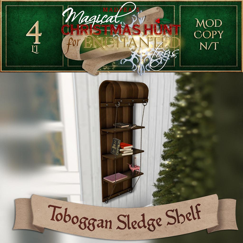 Toboggan Sledge Shelf MadPea Christmas Hunt Prize - TeleportHub.com Live!