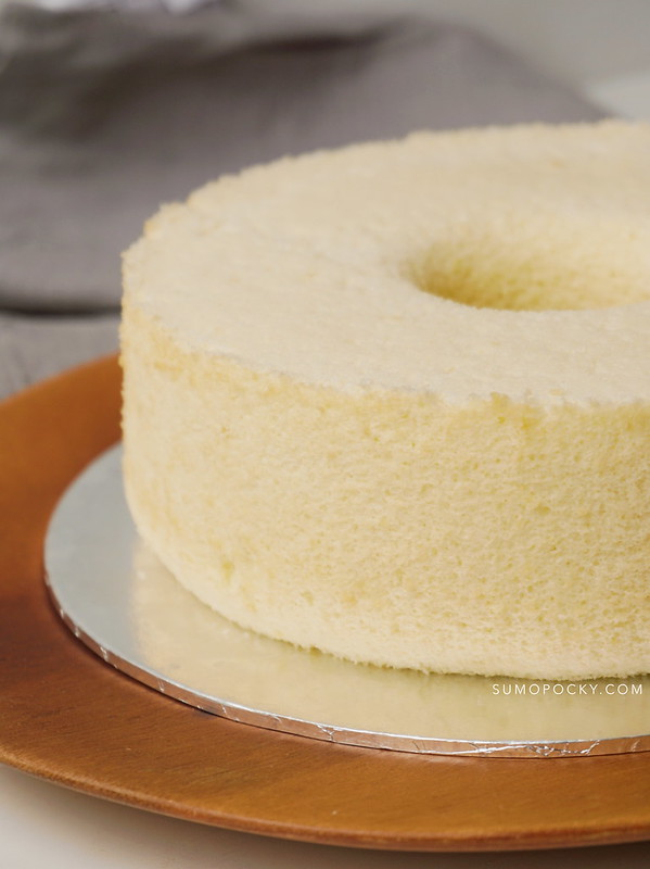 Coconut Milk Chiffon Cake Recipe