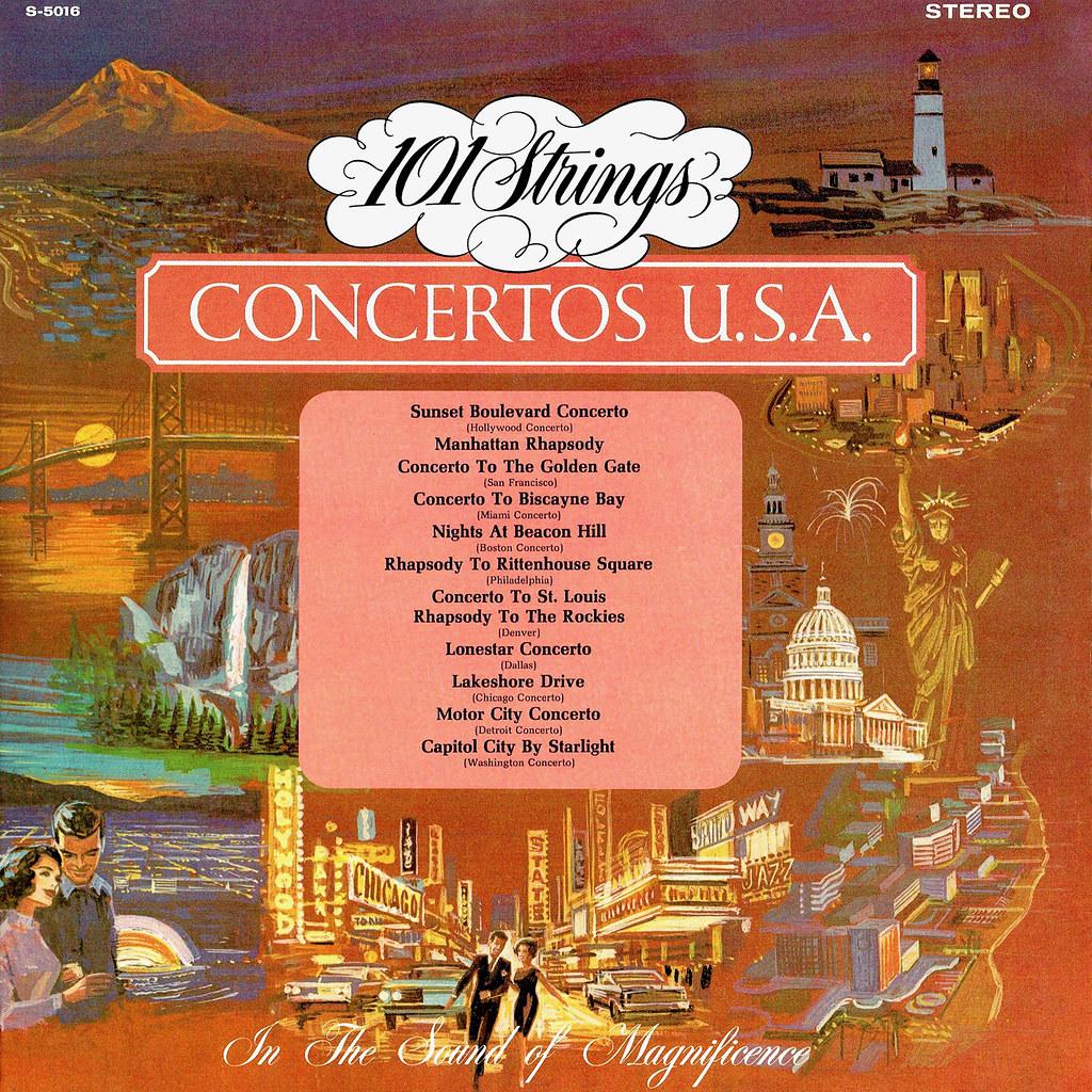 101 Strings – Concertos USA