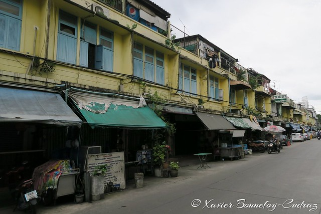 Bangkok - Khlong Toei backstreets