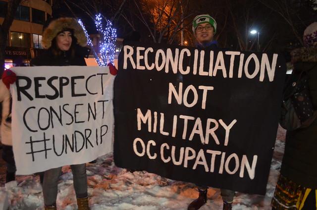 Amiskwaciy in Solidarity with Wet'suwet'en— Treaty 6