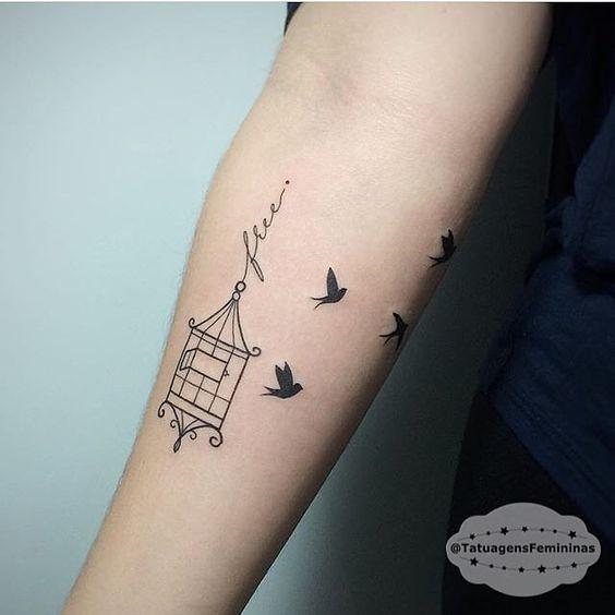 Tatuajes De Golondrinas Con Mucho Significado Mini Tatuajes
