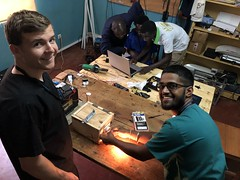 Ben and Abhay - the Final inverter test