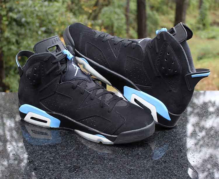 3f49339e4d60 ... Air Jordan 6 Retro UNC Black University Blue 384664-006 Men s Size 16