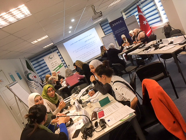 Empowering Syrian Women, ERMES III project