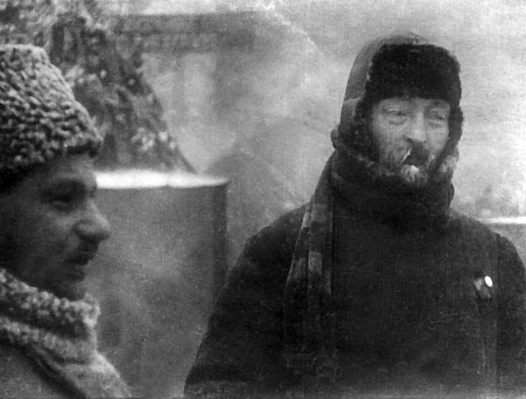 1924. Ф.Э.Дзержинский на похоронах Ленина