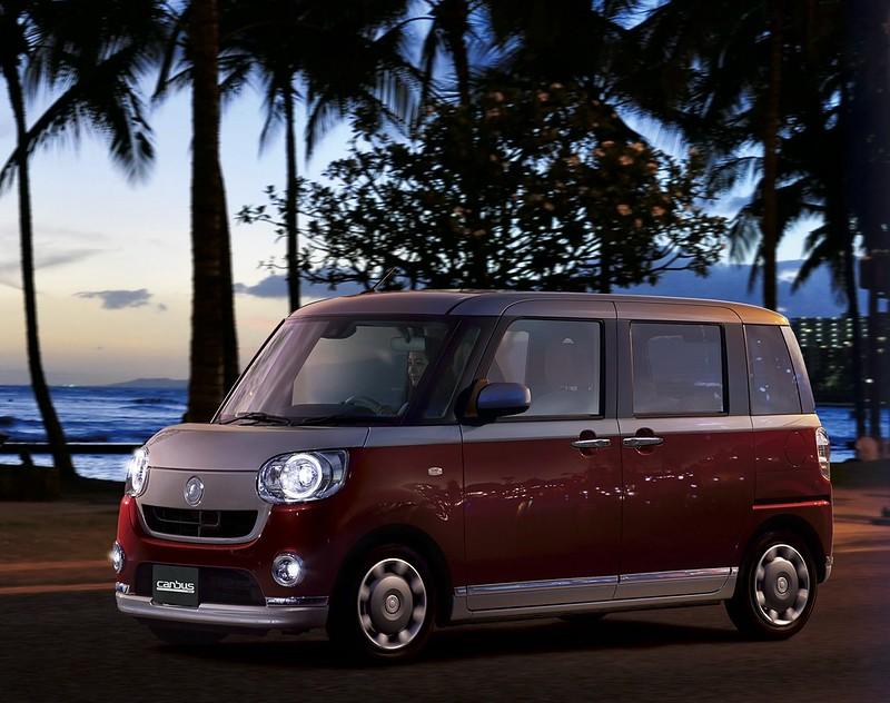 2016. Daihatsu Move Canbus.