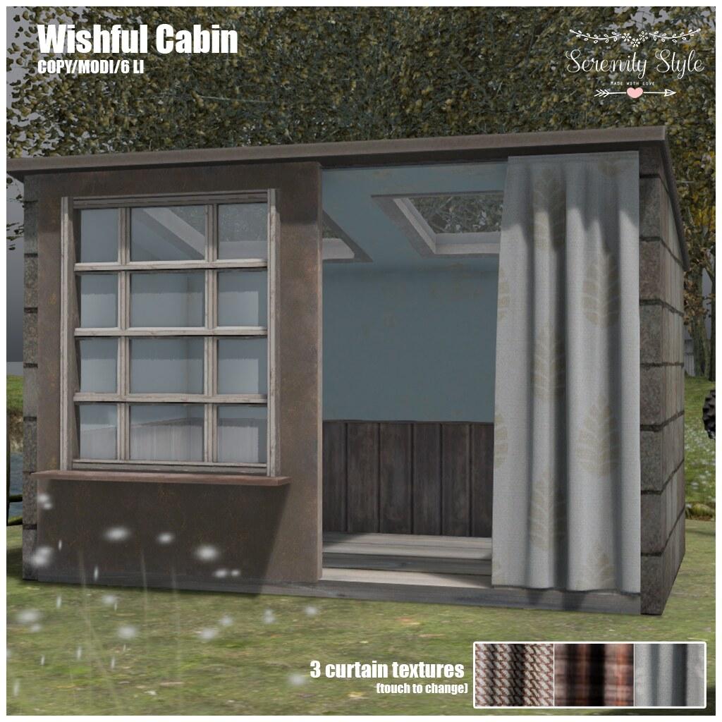 Serenity Style-Wishful Cabin - TeleportHub.com Live!