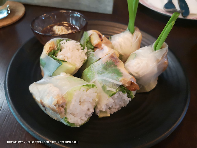 Hello Stranger Cafe 9 Viet Summer Roll with Chicken