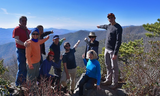 Montreat Wilderness Hike