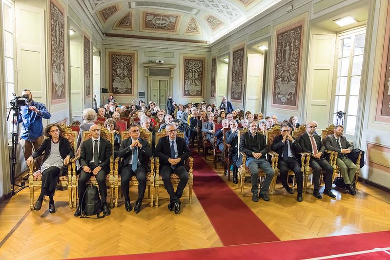Consegna delle medaglie teresiane nell'ambito dell'Ianugurazione dell'anno accademico - 5 novembre 2018