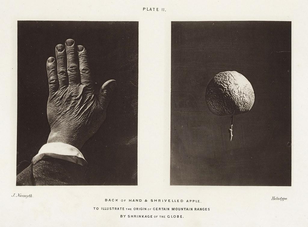 nasmyth - hand and apple