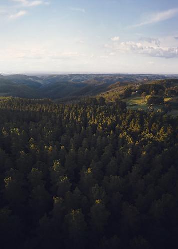 adelaide adelaidehills sunset drone dronephotography aerialphotography southaustralia