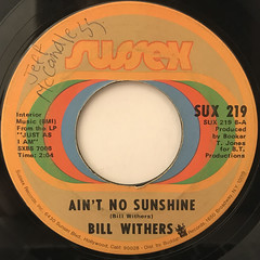 BILL WITHERS:HARLEM(LABEL SIDE-B)