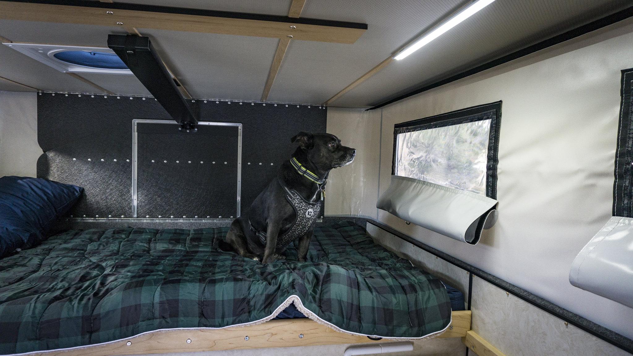 Bailey's 2018 Four Wheel Camper - Build & Photos   Toyota